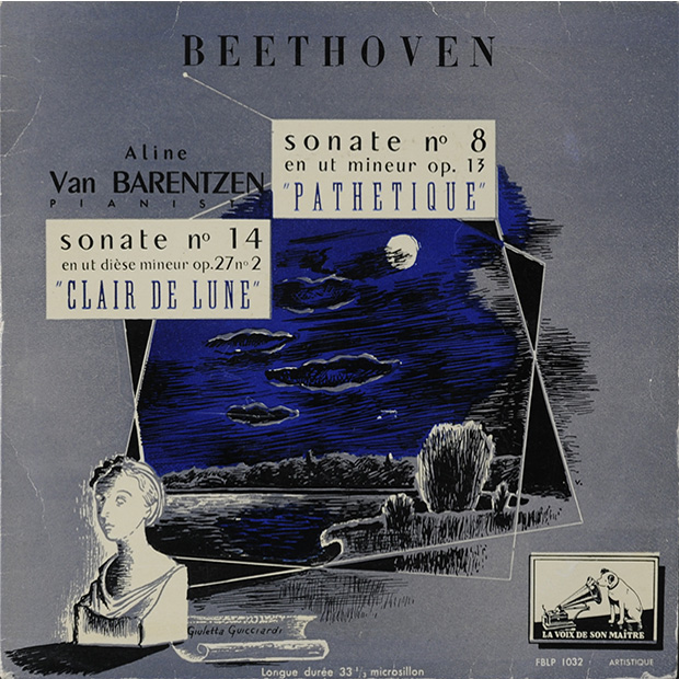 "Ludwig van Beethoven Sonate no 8 &quto;Pathétique"", Sonate no 14""Clair de lune"""