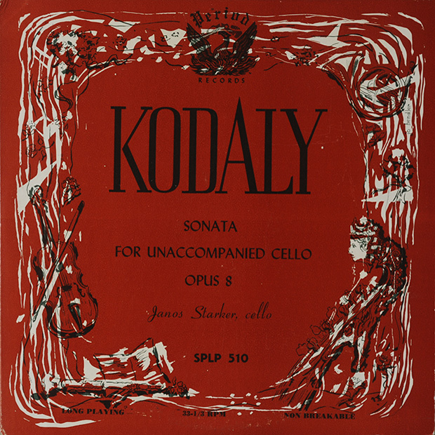 Kodály Zoltán Sonata for Unaccompanied Cello